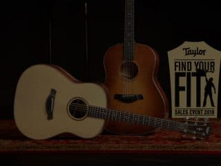 Find Your Fit with Taylor Guitars