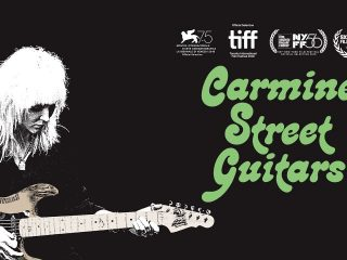 Carmine Street Guitars Filmpremiere und Set Up Aktion